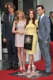 Julianne Moore & Chloe Grace Moretz & Joseph Gordon-Levitt & Jay Roach Royalty Free Stock Photos