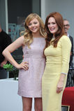 Julianne Moore & Chloe Grace Moretz Royalty Free Stock Images