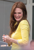 Julianne Moore and John Blake at the Hollywood Walk of Fame Cer Stock Photography