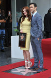 Julianne Moore & Joseph Gordon-Levitt Royalty Free Stock Photos