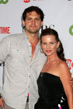 Julianne Morris,Kristoffer Polaha Stock Images