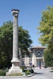 Julianus Column. Is a landmark of Ankara, Turkey Stock Images