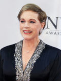 Julie Andrews. Academy Award-winner Julie Andrews arrives on the red carpet at the 60th annual Tony Awards at Radio City Music Hall in New York City on June 11 stock images