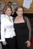 Julie Andrews, Mary Tyler Moore imagem de stock