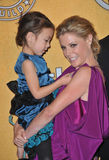Julie Bowen, Aubrey Anderson-Emmons Royalty Free Stock Photo