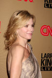 Julie Bowen,Larry King Royalty Free Stock Photo
