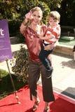 Julie Bowen, quatro estações foto de stock royalty free