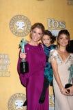 Julie Bowen, Sarah Hyland, Aubrey Anderson-Emmons Stock Photos