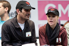 Julie Bowen and Ty Burrell Stock Photo
