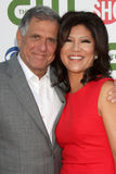 Julie Chen, Les Moonves Royalty Free Stock Photo