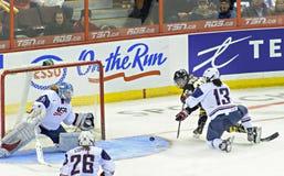 IIHF kobiet Lodowego hokeja światu mistrzostwo obraz stock