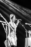 Julie Fowlis und Band Stockbild