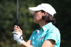 Julie Inkster Evian Masters 2010 Royalty Free Stock Photo