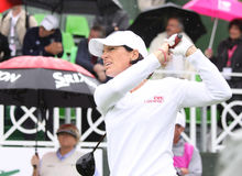 Julie Inkster (USA) Evian Masters 2011 Royalty Free Stock Image