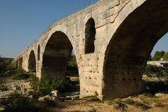 Julien bridge in Bonnieux in Provence Royalty Free Stock Photos