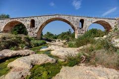 Julien bridge - Bonnieux - Vaucluse - Provence France. The bridge Julien of Bonnieux - Vaucluse - Provence France Royalty Free Stock Photos