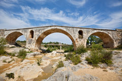 Julien bridge in Provence, France Royalty Free Stock Photos