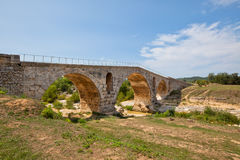 Julien bridge in Provence, France Royalty Free Stock Image