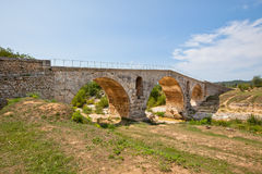 Julien bridge in Provence, France Stock Image
