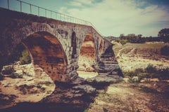 Julien bridge in Provence, France Stock Image