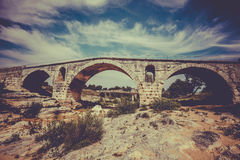 Julien bridge in Provence, France Royalty Free Stock Images