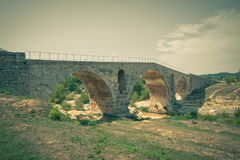 Julien bridge in Provence, France Stock Photography