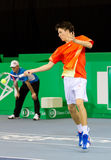 Julien Cagnina at Zurich Open 2012 Stock Photo