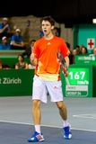 Julien Cagnina at Zurich Open 2012 Stock Photos