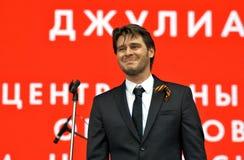 Julien Dassen exécute à la célébration de Victory Day à Moscou Photos stock