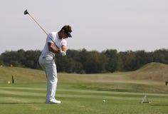 julien de foret golf 2009 öppna paris Royaltyfria Foton