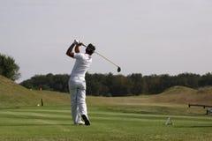 julien de foret golf 2009 öppna paris Arkivfoto