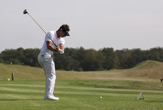 Julien Foret at the Golf Open de Paris 2009 Royalty Free Stock Photos