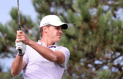 Julien Grillon au défi 2013 de golf de Pleneuf Val Andre Photographie stock libre de droits