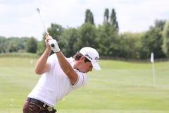Julien Guerrier bij Golf Open DE Frankrijk Stock Foto