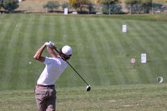 Julien Lamy at Andalucia Golf Open, Marbella Stock Image