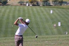 Julien Lamy a golf aperto, Marbella di Andalusia Immagine Stock
