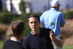 Julien Quesne Andalucia Golf Open, Marbella Royalty Free Stock Photo