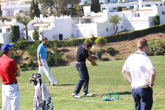 Julien Quesne Andalucia Golf Open, Marbella Stock Image