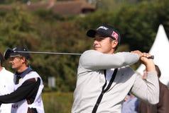 Julien Quesne, Vivendi golf cup, sept 2010 Stock Images