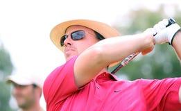 Julien van Hauwe a golf Prevens Trpohee 2009 Fotografia Stock