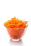 Julienne carrots Royalty Free Stock Photo