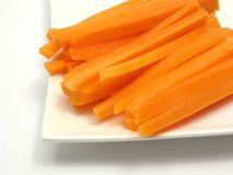 Julienne carrots Royalty Free Stock Photography