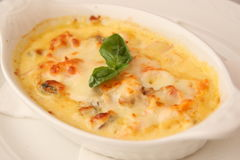 Julienne Plate Stock Photography