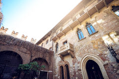 Juliet balcony area in Verona Stock Photo