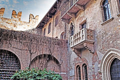 Juliet balcony Stock Images