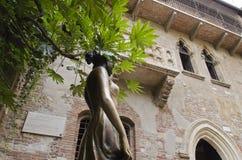 Juliet en Verona foto de archivo libre de regalías