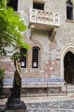 Juliet en Verona imagen de archivo libre de regalías