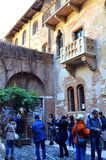 Juliet house,Verona,Italy Stock Photos
