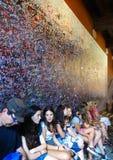 Juliet house wall, Verona, Italy Royalty Free Stock Image