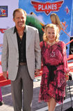 Juliet Mills u. Maxwell Caulfield Stockbild
